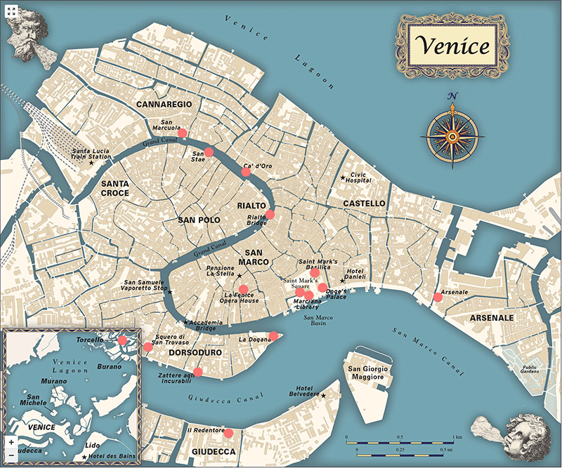 Venice Interactive Map