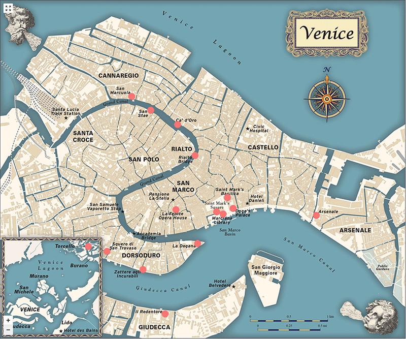 Venice Interactive Map