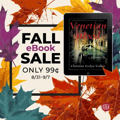 Venetian Blood EBook Goes on 99 Cent Sale on Amazon