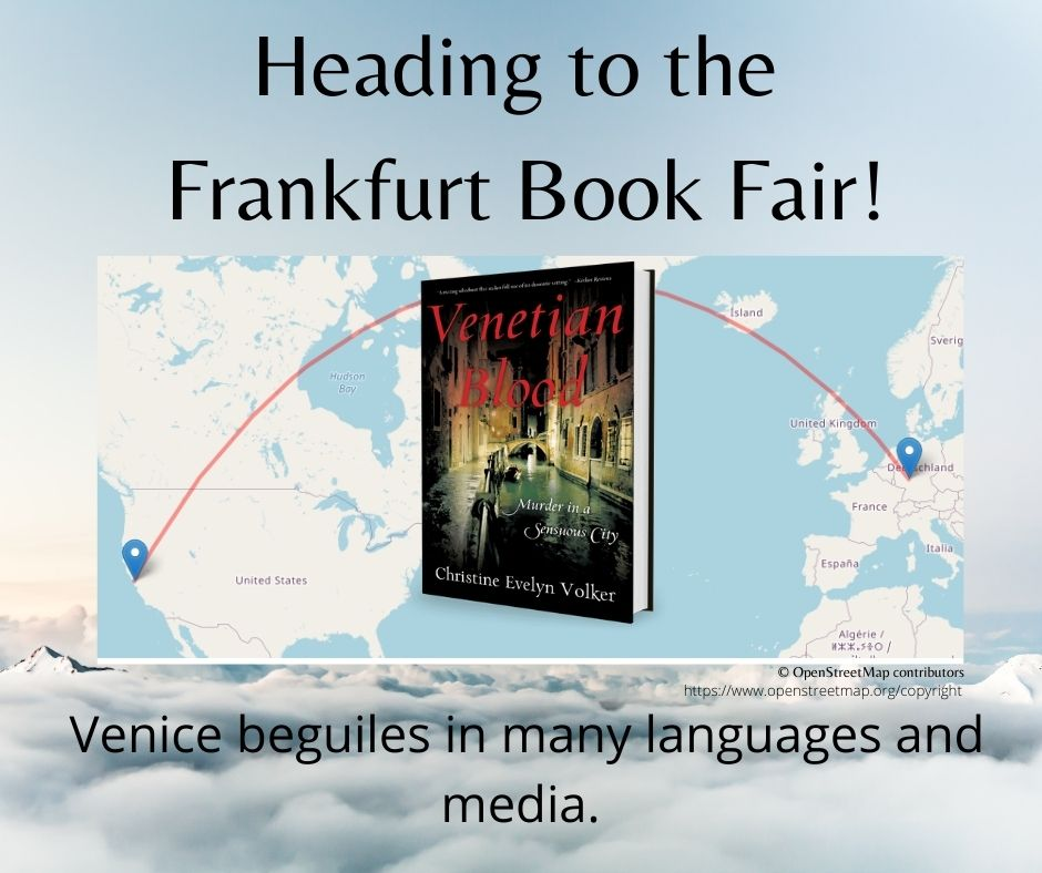 Heading to the Frankfurt Book Fair